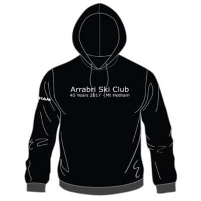 hoodie arrabri ski club