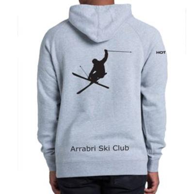 ski hoodie grey