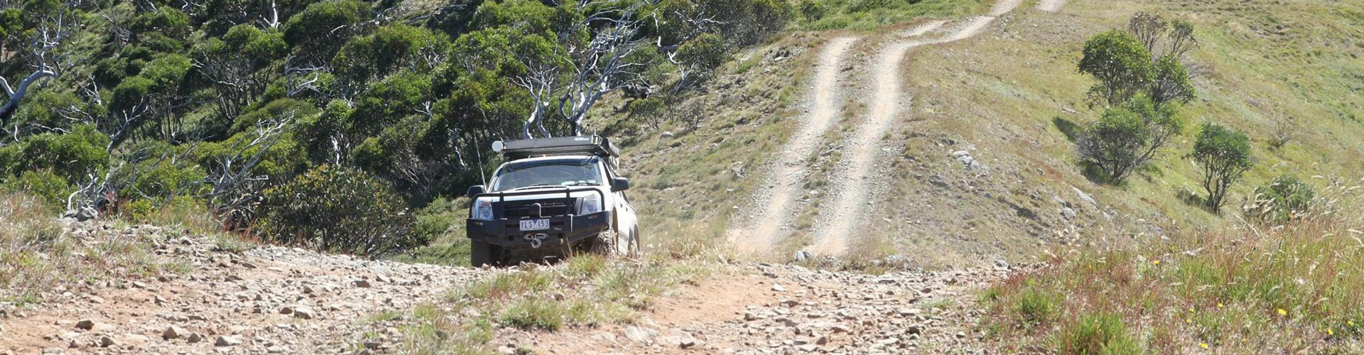 four wheel driving beyond hotham