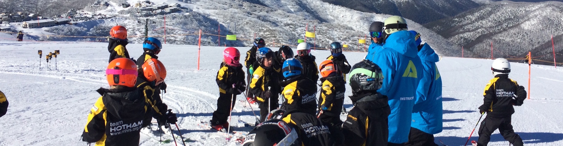 school groups at hotham