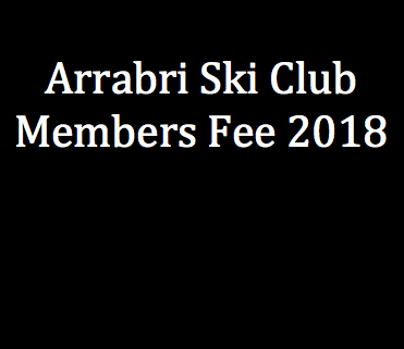 arrabri ski club yearly fees