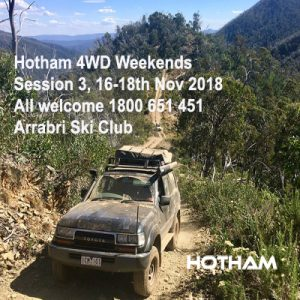 Hotham 4x4 guided trips