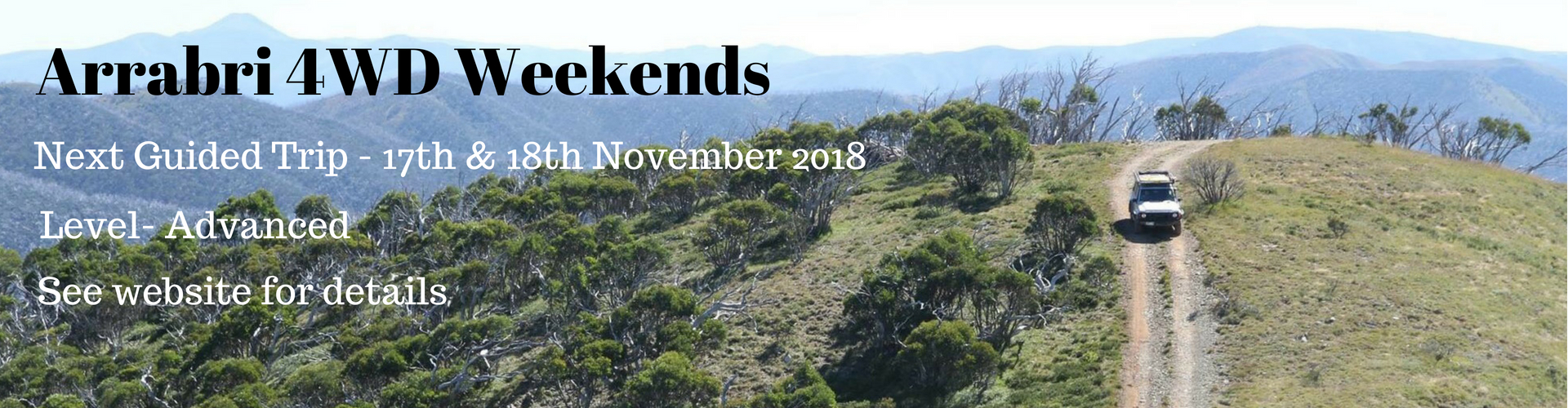 arrabri ski club hotham 4wd weekends