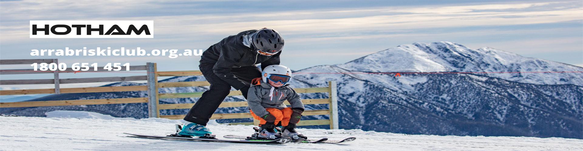 arrabri ski club hotham kids stay free under 5