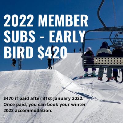 arrabri ski club member subs early bird image